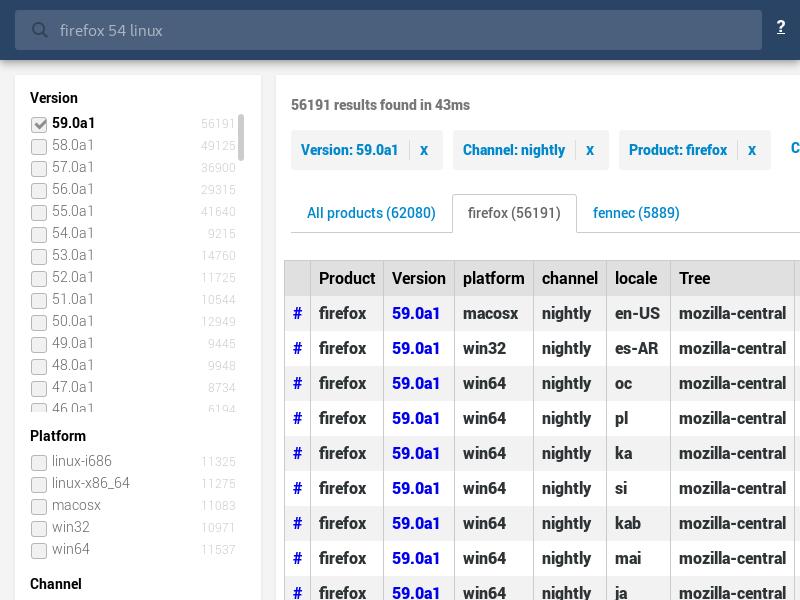 Buildhub UI (using SearchKit)